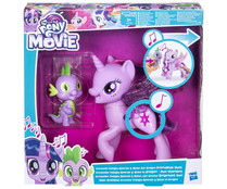 Dúo amistad musical, Princesa Twilight Sparkle y Spike el Dragón, MY LITTLE PONY.