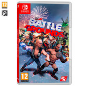 WWE 2K Battlegrounds para Nintendo Switch. Género: lucha. PEGI:+12.