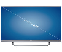 "Televisión 124,46 cm (49"") PHILIPS 49PUS7503/12 4K, SMART TV, WIFI, TDT T2, AMBILIGHT, USB reproductor y grabador, 4HDMI, 1700HZ."