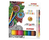 Pack de 24 lápices de colores Color Experience, ALPINO.