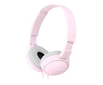 Auriculares tipo casco SONY MDRZX110P.AE  rosa.