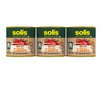 Tomate frito casero SOLÍS. pack de 3 uds x 100 g..