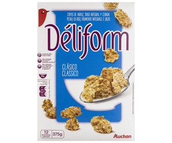 Cereales  Dèliform AUCHAN 375 gr,
