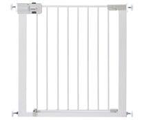 Barrera puerta de 73x73/80cm, color blanco, SAFETY FIRST EASY CLOSE.