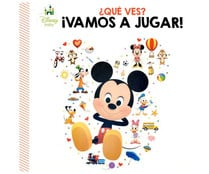 ¿Qué ves? ¡Vamos a jugar!, DISNEY. Género infantil. Editorial Publications International Iberia.
