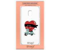 Funda compatible con Samsung Galaxy J5 (2017), Mr. WONDERFUL. (Teléfono no incluido)