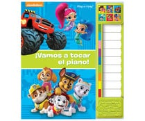 Pequeño piano Nickelodeon Jr. DISNEY, Publications International Iberia