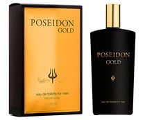 Eau de toilette para hombre con vaporizador en spray POSSEIDON Gold 150 ml.