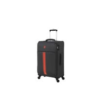Maleta mediana de color gris soft 67cm 4 ruedas tsa EVA, IT LUGGAGE.