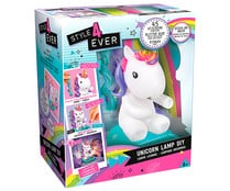 Estudio para decorar tu unicornio lámpara con colores y pegatinas, STYLE 4 EVER.