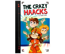 The Crazy Haacks y la pócima eterna, VV. AA. Género: infantil. Editorial Montena.