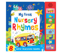 My first nursery rhymes (super sounds), VV. AA. Género: infantil inglés. Editorial: Igloo.