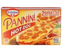 Panninis de hot dog DR. OETKER 250 gr pack de 2 uds