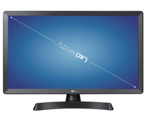 "Televisión 71,12 cm (28"") LED LG 28TL510S-HD, HD READY, SMART TV, WIFI, TDT T2, USB reproductor, 2HDMI, 50HZ."