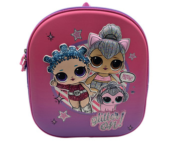 Mochila escolar de LOL SURPRISE color rosa, medidas: 29x33x12,75 cm, L.O.L. SURPRISE!.