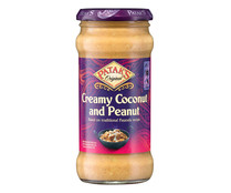 Salsa Cream coconut and penaut PATAK´S 350 g.