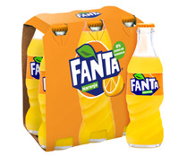 Refresco de naranja FANTA pack 6 botellas x 20 cl.