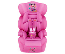 Silla de auto para grupo 1/2/3, color rosa, DISNEY MINNIE.