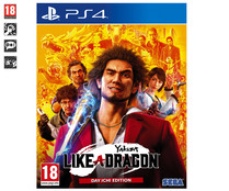 Yakuza: Like a Dragon Day Ichi Edition para Playstation 4. Género: acción. PEGI: +18.