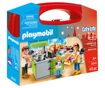 Playset de cocina City Life PLAYMOBIL.