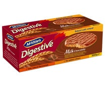 Galletas de chocolate con leche Digestive Mc VITIE'S 300 gr.