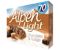 Cereales en barrita ALPEN LIGHT barrita 19 gr. pack 5 unidades