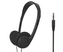 Auriculares tipo DJ SELECLINE JY-H831 863750 con cable,  negro.