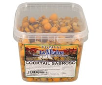 Cocktail frutos secos, sabroso LA ALBUFERA 450 g.