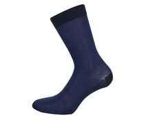 Calcetines de Hilo de Escocia 33 THIRTY THREE, color azul, talla 39/42