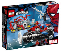 Set rescate en moto de Spiderman de Marvel.LEGO