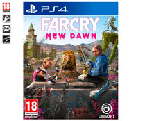 Videojuego Far cry new dawn para Playstation 4. Género: shooter, FPS, acción. PEGI: +18.