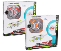Dron Neon con obstáculo inflable, Ax-19, SKY QUEST.