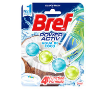 Colgador WC Agua de coco BREF POWER ACTIVE 50 g.