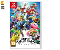 Juego Super Smash Bros. Ultimate para nintendo Switch, género: acción, PEGI 12.