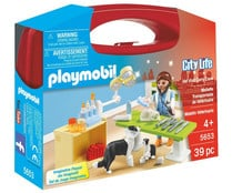 Maletin veterinario playmobil