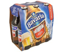 Cervezas sin alcohol (0,0% Vol.) BAVARIA PREMIUM ORIGINAL pack de 6 botellas de 25 centilitros