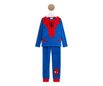 Pijama coral fleece para niño SPIDERMAN, talla 8.