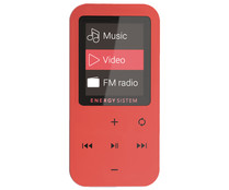 "Reproductor MP4 ENERGY SISTEM TOUCH  426447 CORAL 8GB, LCD 1,8"", lector tarjetas MicroSD."