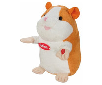 CHATIMALS Hamster marrón, peluche interactivo de 15,5cm de alto CHATIMALS.