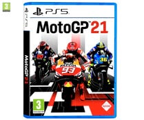 MotoGP 21 para Playstation 5. Género: carreras, motos. PEGI: +3.