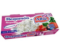 Requesón light ALBE packs 2 uds. x 150 g.