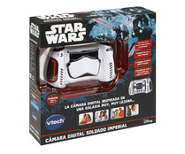 Cámara digital, Soldado Imperial con cámara para fotos y video, Star Wars VTECH.