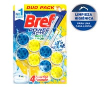 Colgador WC Power Active Limón Duplo BREF 2 uds. x 50 g.