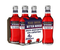Bitter rojo sin alcohol MARE ROSSO 4uds. x 20 cl.